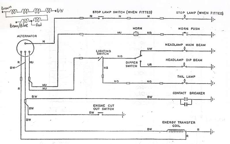 Bsa 441 Wiring Diagram wiring diagrams image free