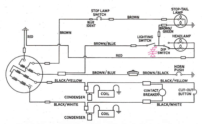 Lucas 5 Wire Motorcycle Alternator Wiring Diagram - Collection