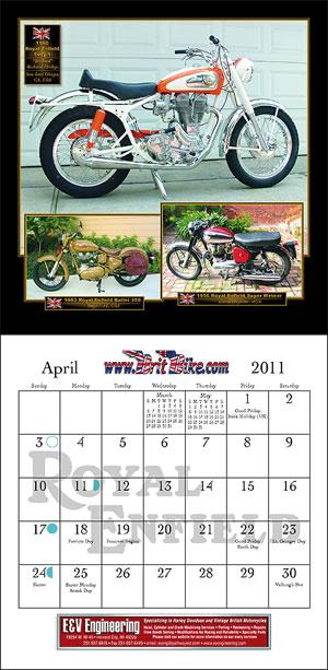 2011 BritBike Calendar