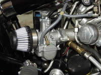 JRC New Carburetor here seen on a Vincent