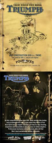 TRIUMPH 650 REBUILD DVD