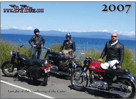 BritBike Calendar 2007