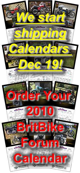 BritBike Calendar 2010