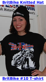BritBike #10 T-shirt